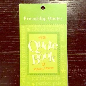 Friendship Quotes - The Quote Book